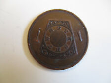 1930's Denver Colorado Masonic Fraternal Group Large Penny #29