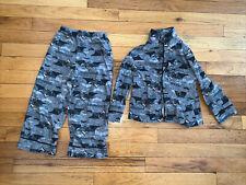 Dark Knight Batman Boys Kids Pajama Pants And Shirt Dc Size 4T Perfect Comdition