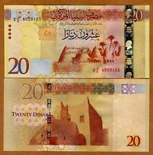 Libya, 20 Dinars, ND (2016), P-New, Russian Printed, Modified, UNC