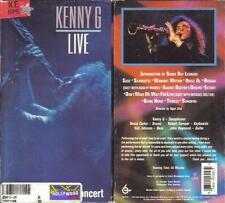 VHS: KENNY G LIVE...THE HOME VIDEO CONCERT