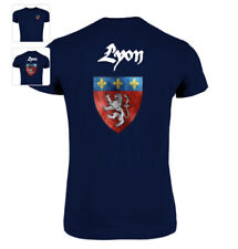 TEE-SHIRT LYON t shirt lyonnais FRANCE T SHIRT 69 GONES OLYMPIQUE OL FRANCE