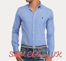 Ralph Lauren Men's Regular Fit Performance Shirt  (Blue)           RRP £115