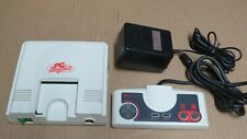 White PC Engine Console System * Original NEC Model Not Mini VGC? Tested Working