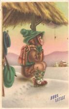 Cartolina di Auguri  :  BUON  NATALE  -  illustratore :  MARANDOLANI ????