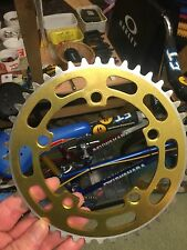 RALEIGH BURNER - SUNTOUR 44T CHAINRING  - OLD SCHOOL BMX - KUWAHARA ET
