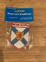 Vintage Nova Scotia Patch Souvenir Tourism Canada Sew Iron On Embroidered