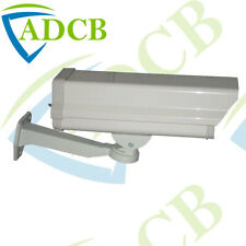 OUTDOOR HEATER/FAN/LED CCTV CAMERA HOUSING BRACKET W/ INFRARED ALL IN ONE