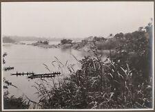 ✒ CROISIERE NOIRE CITROEN photographie originale Oubangui BANGUI CENTRAFRIQUE