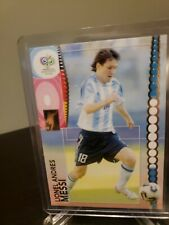 2006 World Cup Panini Lionel Leo Messi Argentina Barcelona RC 1st WC + ARg set