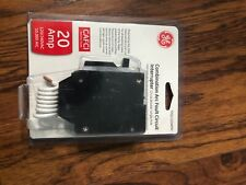 New, Ge 20 Amp 1 in. Single Pole Arc Fault Combination Circuit Breaker