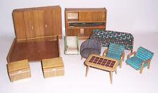 Konvolut DDR Design Puppenstubenmöbel 60er Jahre Retro Vintage !