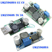LM2596HV S CC CV 12V/24V/36V/48V/60V to 5V 3A USB Charger Step Down Power Module