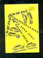 Wiking Sammlerkatalog 1984