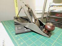 Antique Stanley Bailey No.4 Smooth Bottom Plane Victory Blade Repair or Parts