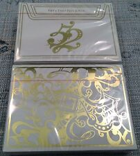 1 Deck Gold 52 Plus Joker Playing Cards~Free Shipping