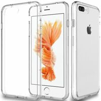 Fits Iphone 7 / 6S / 6 / 8 Plus Xs Max Case Clear Thin Shockproof Soft Tpu Cover