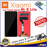 TOUCH SCREEN VETRO LCD DISPLAY SCHERMO Per XIAOMI  Mi 8 LITE M1808D2TG NERO