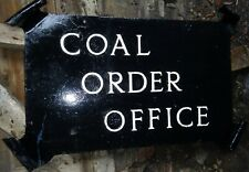 More details for original historic hanging sign coal order office charringtons, cable street lndn