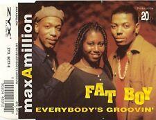Max a million Fat Boy/Everybody 's Groovin' (#zyx8077) [Maxi-CD]