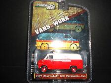 Greenlight Chevrolet G20 Paramedic Van 1977 1/64 29781