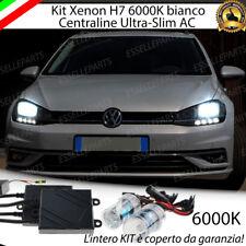 KIT IMPIANTO XENON AC H7 6000K CANBUS VW GOLF 7 VII FACELIFT 2017 NO ERRORE