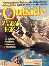 Outside Magazine Canadian Highs June 1988 110317nonrh