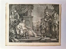Eau-Forte, And the Child Grew..., T. Cook d'après W. Hogarth, v. 1801