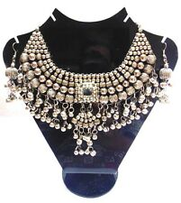 Belly Dance Set Jewelry Gypsy Handcrafted Artisan Indian Kuchi Tribal Necklace