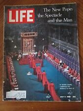 Life Magazine The New Pope Spectacle and the Man July 1963