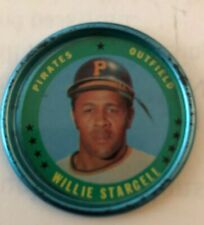 1971 Topps Coin #123 Willie Stargell Pirates NM