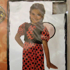 Halloween Lady Bug Costume Child Size Small 4 6 Dress Wings