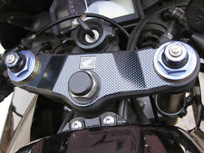 Carbon Fiber Triple Clamp Decal 2005-2006 Honda CBR 600RR CBR600RR - 3M Vinyl