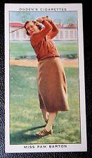 Womens Golf   Ladies Open Golf Champion    Original 1930's Vintage Card  VGC