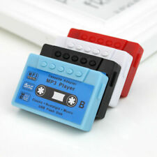 Gift Mini Mp3 Player Portable Support 32G Micro TF Card Slot - Also as Pen Drive