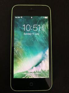 Apple iPhone 5c -8GB -Green - Unlocked