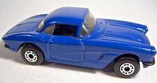1-75 Superfast 62D 1962 Corvette Pre-pro in d'blau mit schwarzer Einrichtung top
