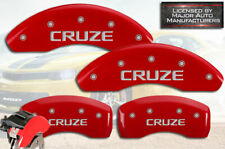 CHECK SIZE 300mm FR CHEVROLET CRUZE 2011-2015 FRONT /& REAR BRAKE DISC PADS SET