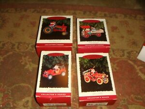 7 Diff Hallmark Keepsake Ornaments - Here Comes Santa Series - Free Shipping