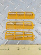 1/64 STANDI TOY QTY 3 16' YELLOW GATES FENCE HORSE COW CATTLE ERTL FARM COUNTRY