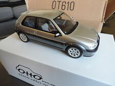 Ottomobile ottomodels otto CITROEN SAXO NEW MORNING grise 1/18