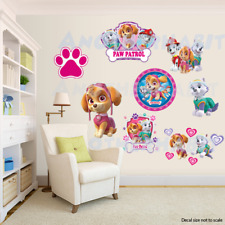 Paw Patrol Room Decor Girls -  Wall Decal Removable Sticker