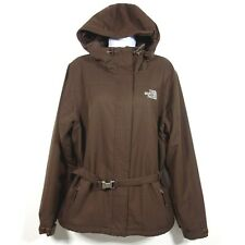The North Face Hooded Ski Snowboard Jacket w/ Belt Women's Large Brown