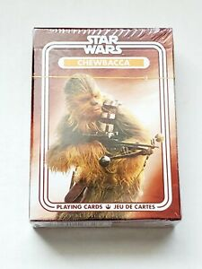 Star Wars Chewbacca Playing Cards Millennium Falcon Original Trilogy New Cards