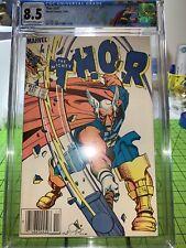 Thor 337 cgc 8.5 1st Beta Ray Bill custom label! MCU 🔥