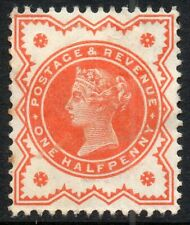 1887 Sg 197 ½d vermilion Mounted Mint Heavily Hinged