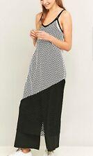 0555d1149347 Womens New Black And White Mesh Midi Slip Dress.Urban Outfitters.Size UK  Medium