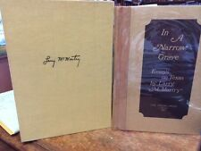 Larry McMurtry IN A NARROW GRAVE SIGNED limited 1/250 in slipcase. Mint