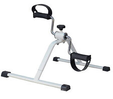 Home Bedroom High Quality White Metal Adjustable Pedal Fitness Exerciser