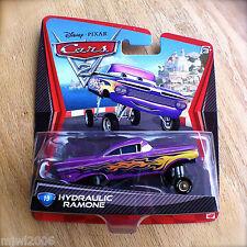 Disney PIXAR Cars 2 HYDRAULIC RAMONE #19 diecast lowrider purple Impala VONDUTCH