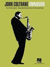 John Coltrane Omnibook Play JAZZ Blues Clarinet Tenor Saxophone Sax Music Book